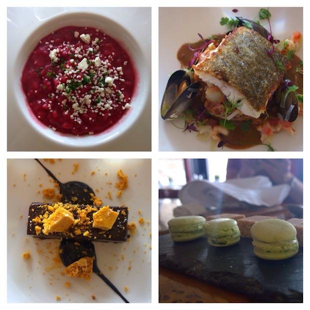 Lunch at Tower Restaurant, Edinburgh