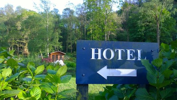 Penmaenpool Dolgellau Hotel and gardens