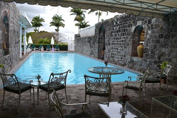 Pool at Ottleys Plantation House St Kitts