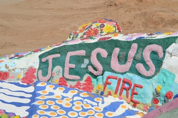 Salvation Mountain Jesus