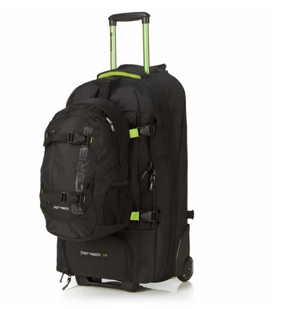Review The Caribee Fast Track Wheeled Backpack Travel Blog