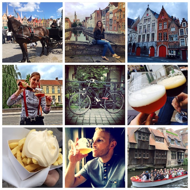 Travel Blogging in Bruges