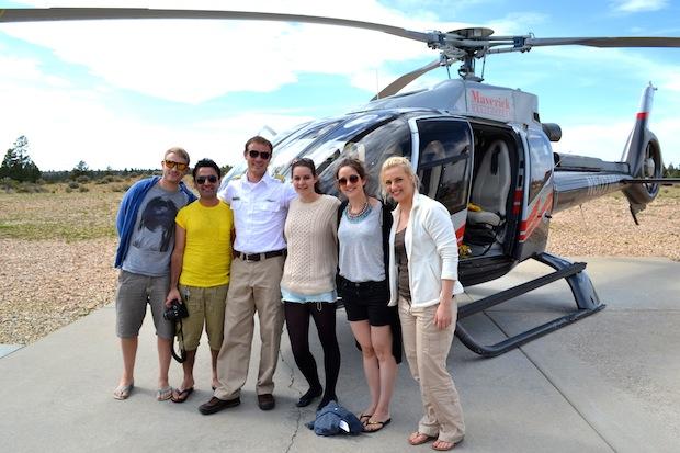 Trek America in the Grand Canyon