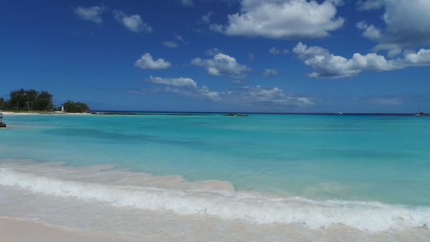 blue seas in barbados