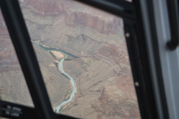 colarado river as seen from the Grand Canyon