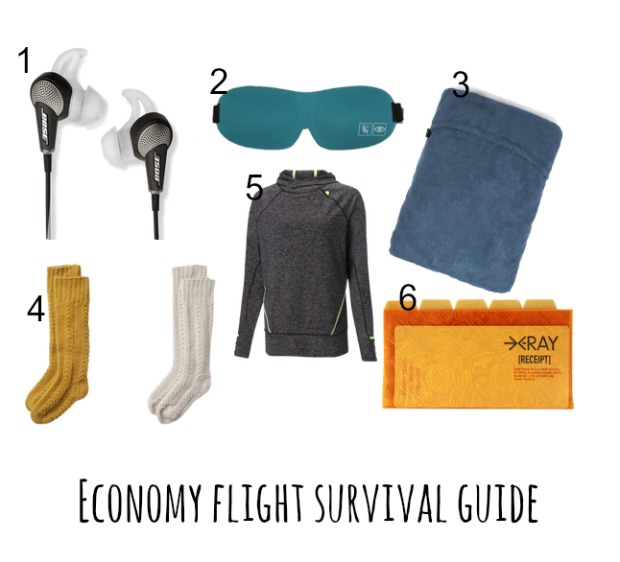 Economy Flight Survival Guide: Staying Stylish in Economy Class