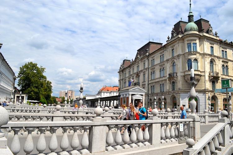 3 bridges Ljubljana