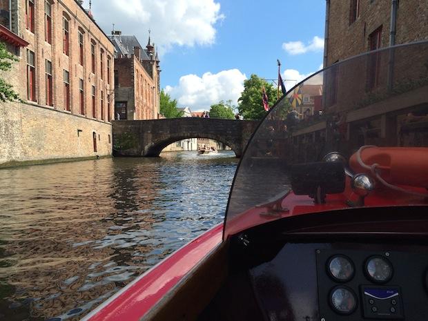Boat trip in Bruges