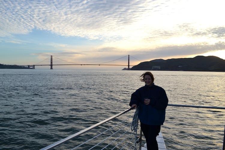Catamaran cruise in San Francisco