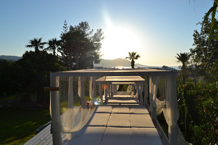 Day beds at Zening Resorts Cyprus
