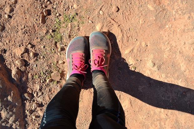 Dusty feet