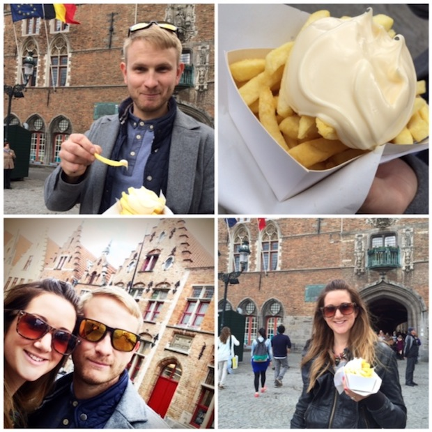 Fries in Brussels