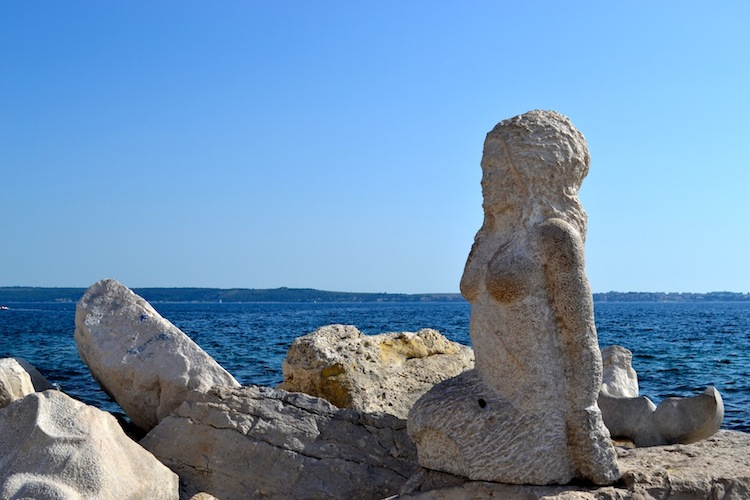 Mermaid in Piran