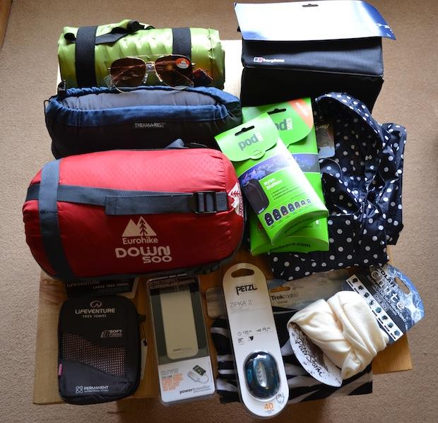 Packing for trek america