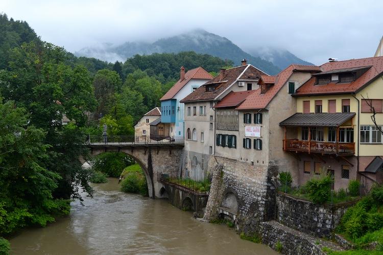 Skofja Loka river