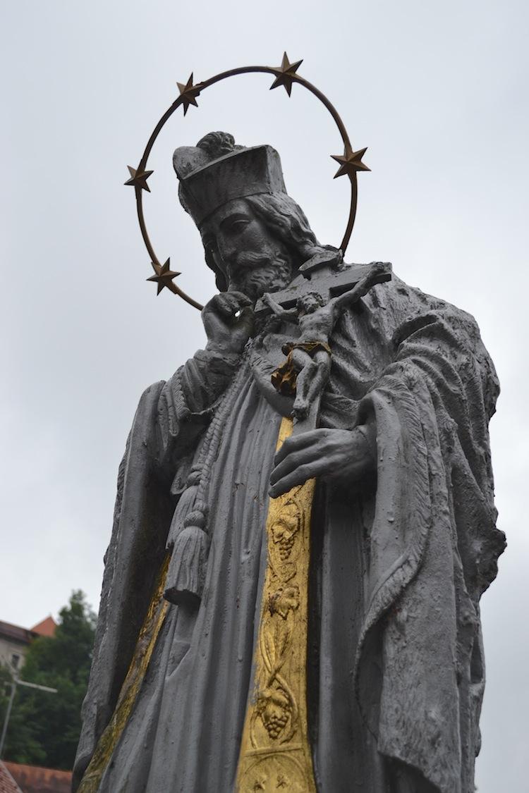 Statue in Skofja Loka