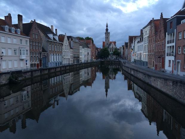 Sunset in Bruges - main