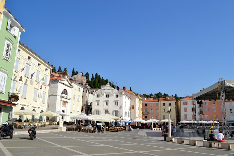 Town square in Piran