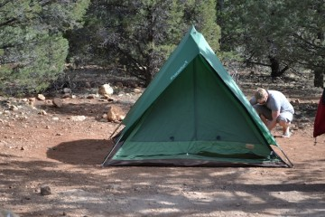 Trek America tents