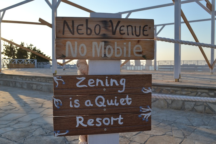 Zening Resort in Cyprus quiet zone
