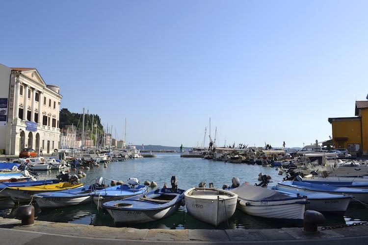 Boats in Piran