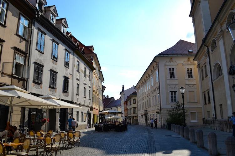 Cafe culture in Ljubljana