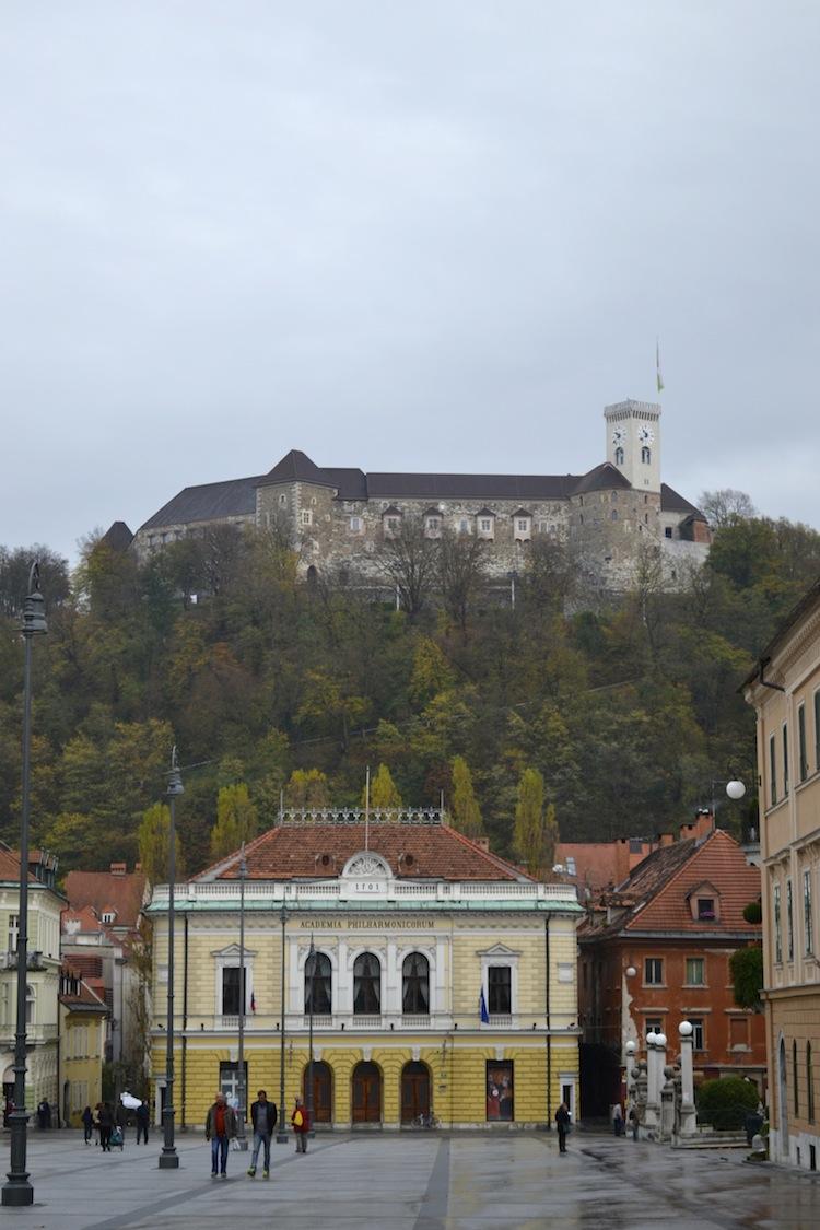 Castle in Ljubljana
