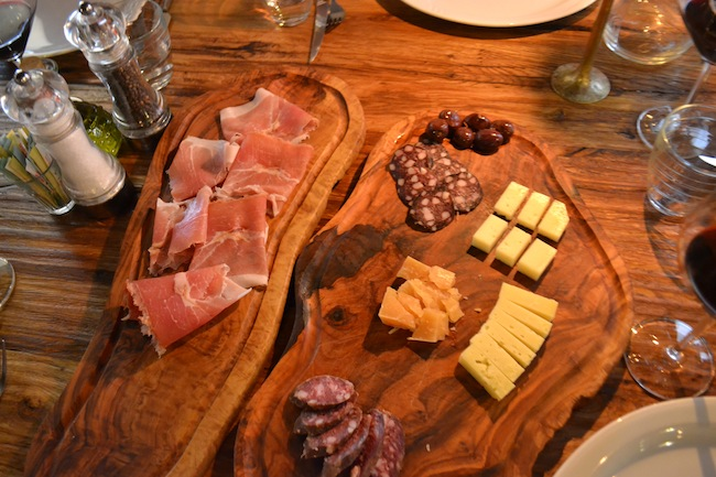 Cheese and cured meat in Ljubljana