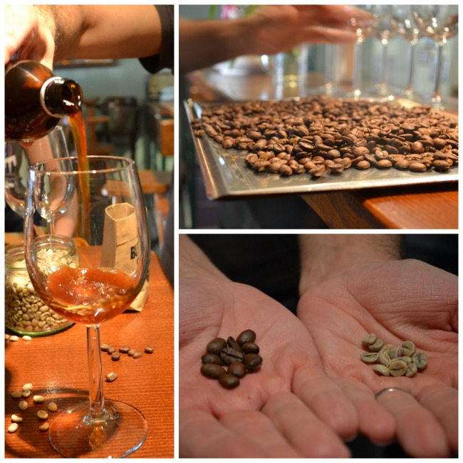 Coffee tasting in Ljubljana
