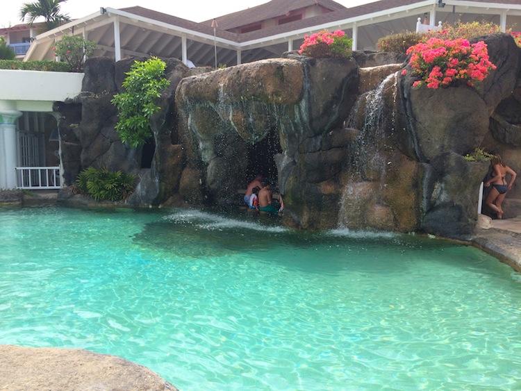 Crystal Cove pool and swim up bar