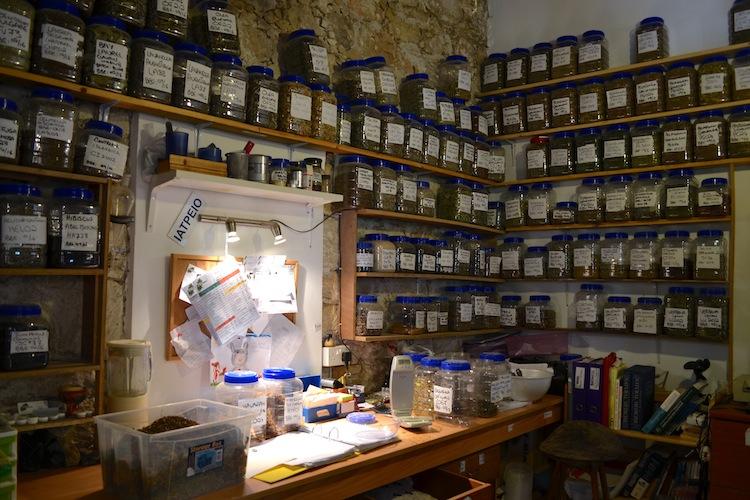 Herbalist in Cyprus