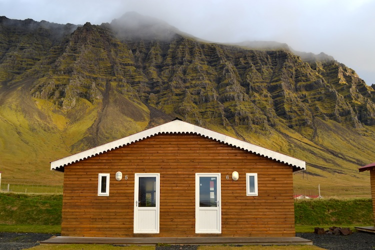 Huts in Iceland