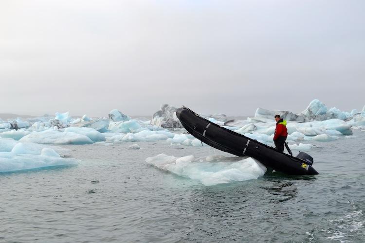 Jokulsarlon Glacier Lagoon Rib