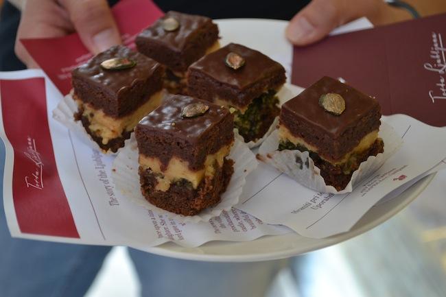 Ljubljana cake