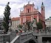 Main square Ljubljana