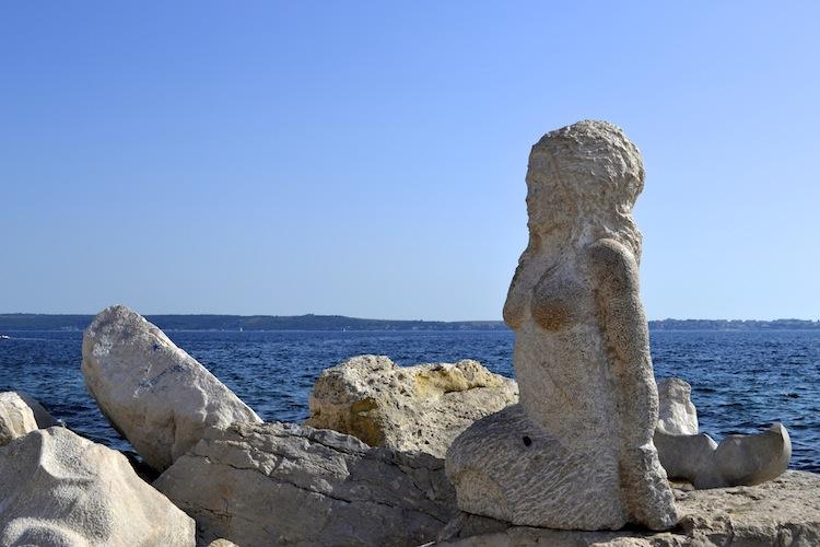 Mermaid in Piran