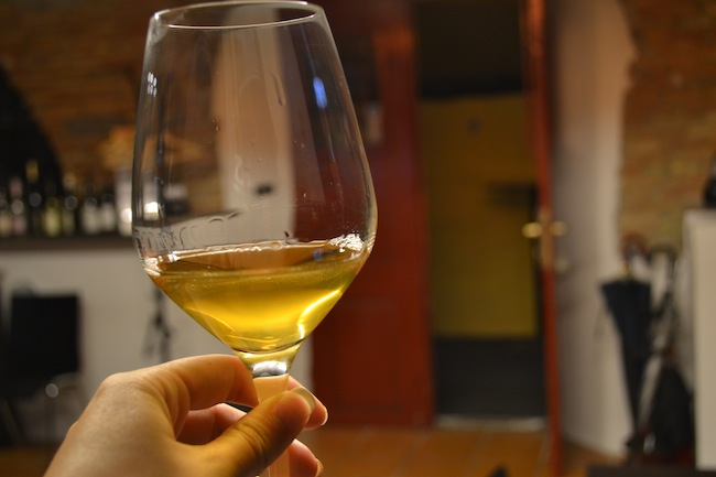 Orange wine in Slovenia