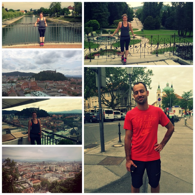 Running tour in Ljubljana