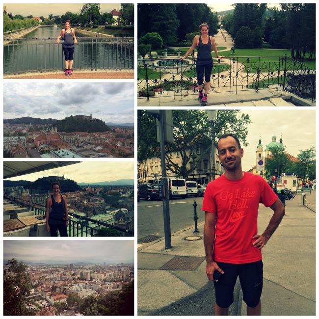 Running tour in Ljubljana