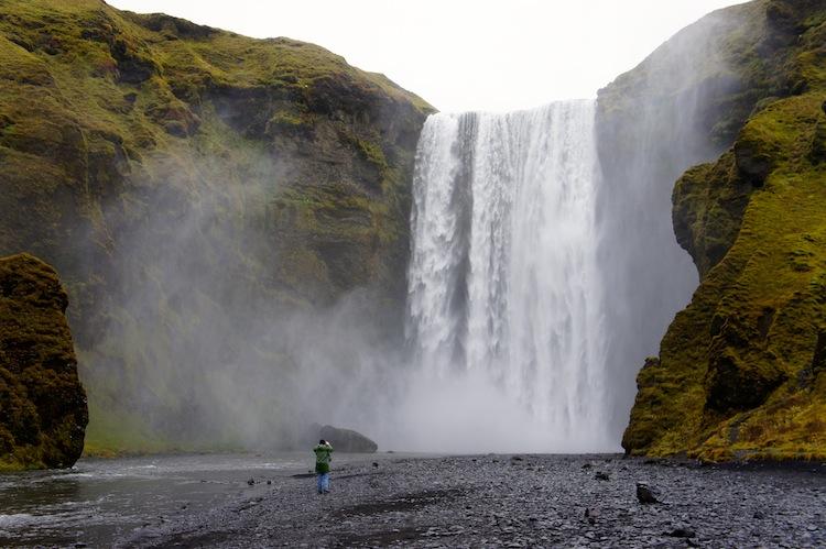 Skogfoss Waterfall