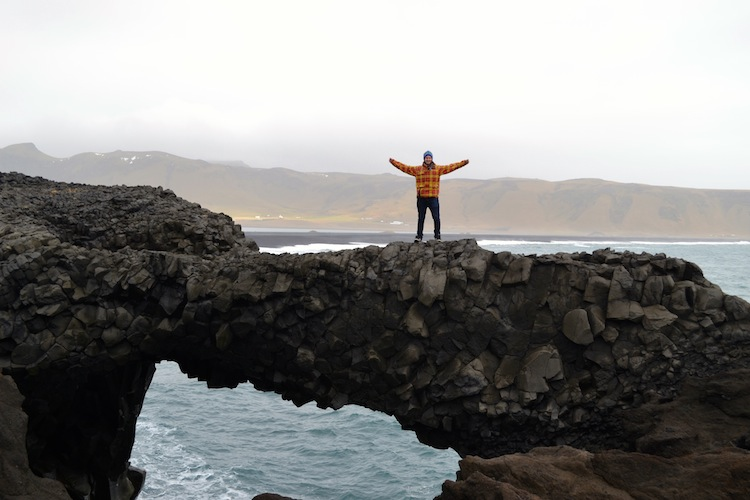 Vic in Iceland