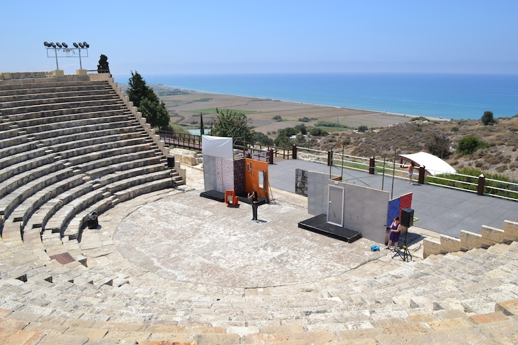 Ampotheatre in Cyprus