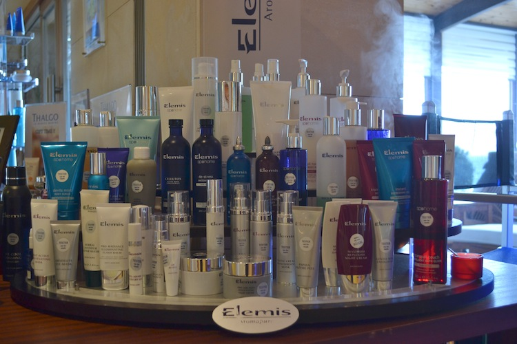 Elemis products at Le Meridien Limassol