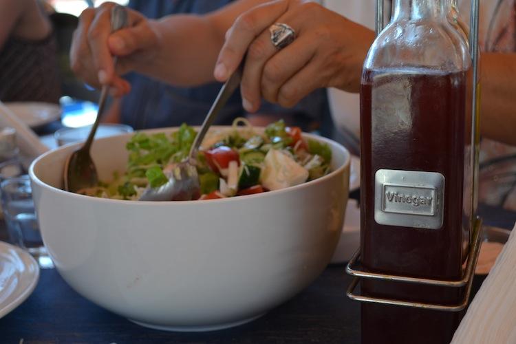 Fresh Salad in Cyprus