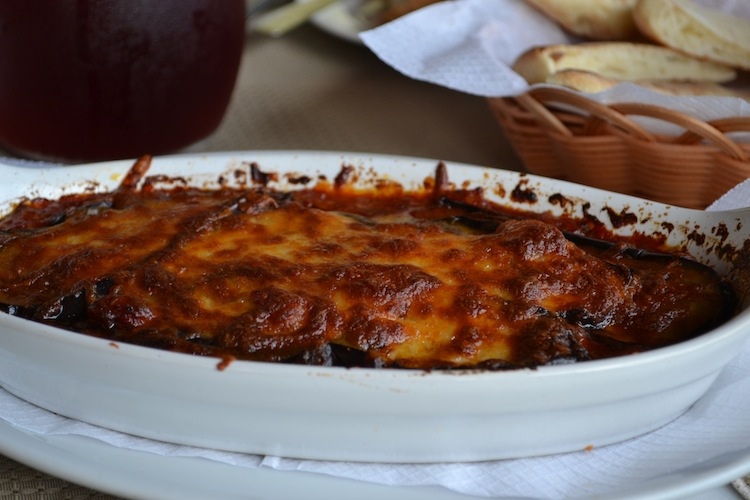 Moussaka in Cyprus