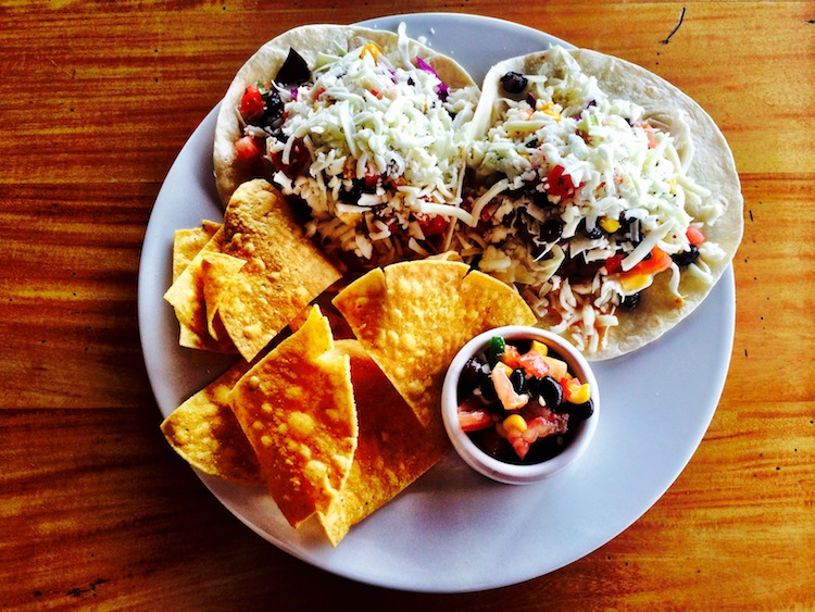Pagua Bay House Mexican food
