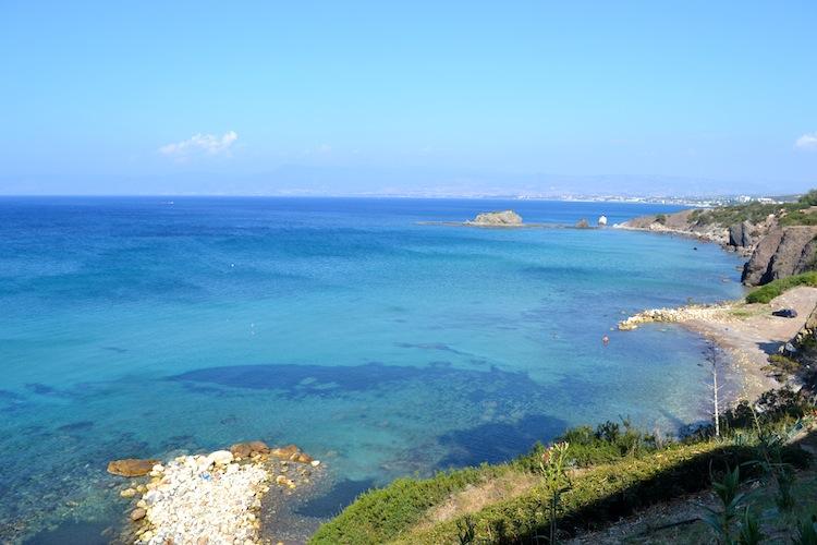 Sea in Cyprus
