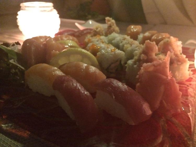 Sushi at Le Meridien Limassol