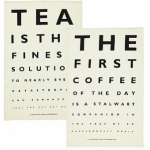 Tea and coffee tea towels |  Gifts for Foodies