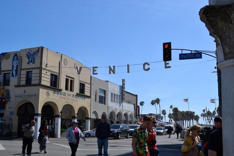 Venice Beach sign